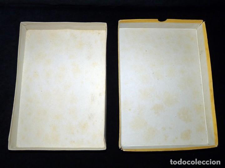 Coleccionismo: ANTIGUA Y BONITA CAJA DE CARTÓN LITOGRAFIADA CON ESCENA GALANTE , 25,5x17,5x3,5 cm. AÑOS 60 - Foto 3 - 161330462