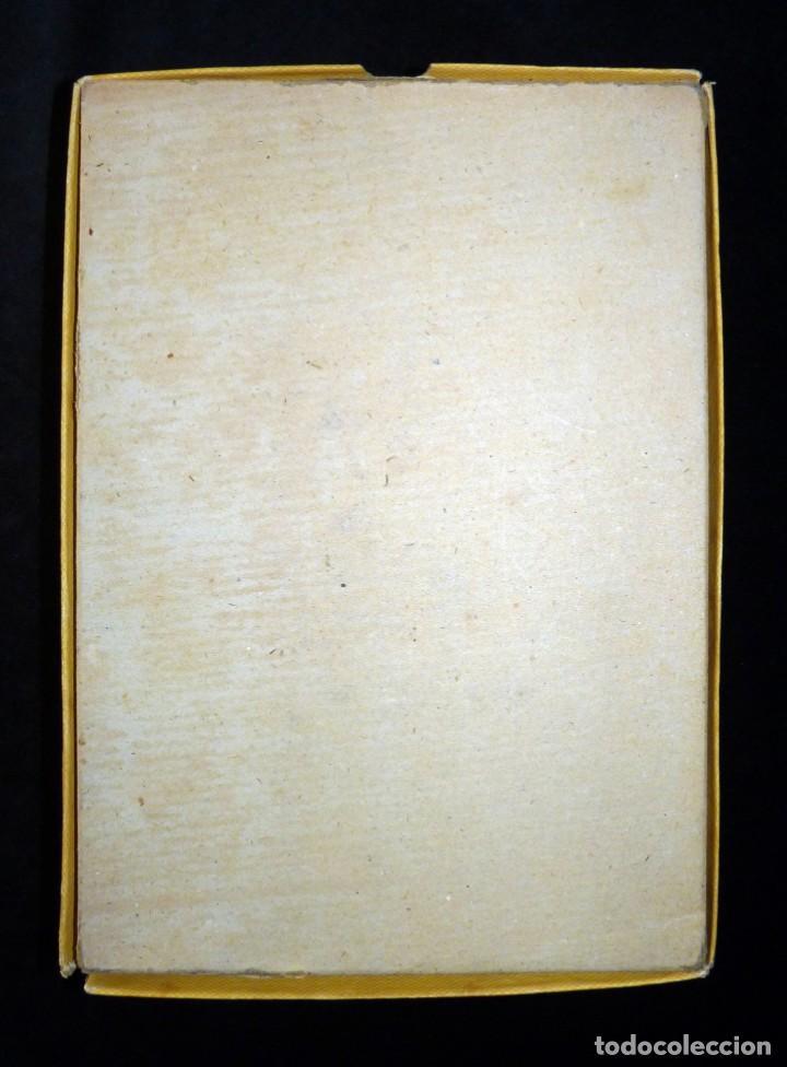 Coleccionismo: ANTIGUA Y BONITA CAJA DE CARTÓN LITOGRAFIADA CON ESCENA GALANTE , 25,5x17,5x3,5 cm. AÑOS 60 - Foto 5 - 161330462