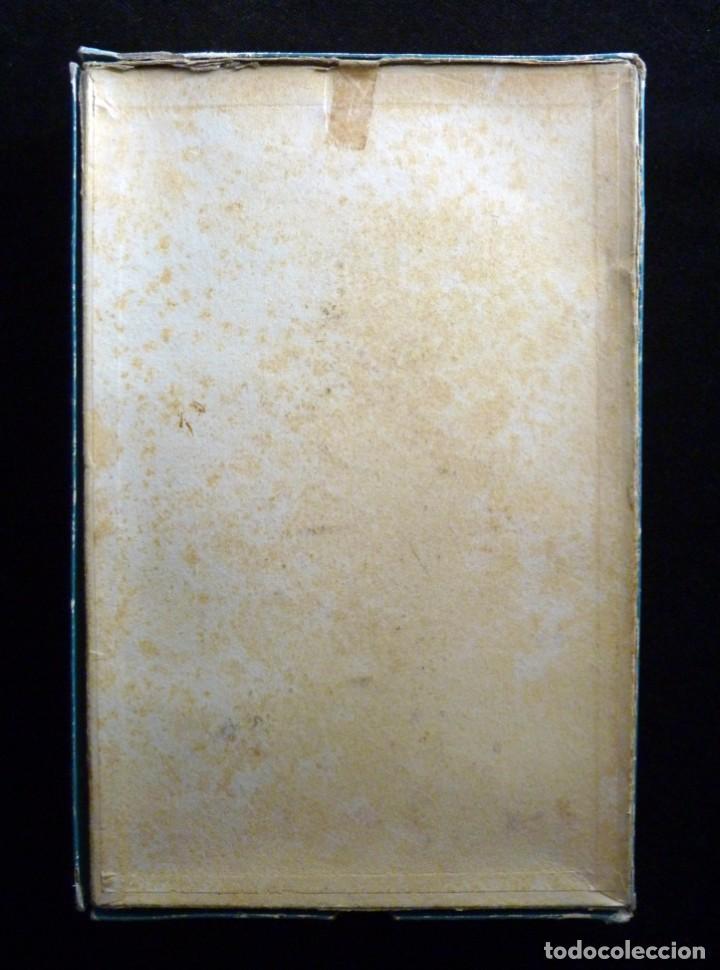 Coleccionismo: ANTIGUA Y BONITA CAJA DE MADIAS. CARTÓN LITOGRAFIADO. FALLERAS VALENCIA. 26,5x17x4,5 cm. AÑOS 20-30 - Foto 8 - 161330766