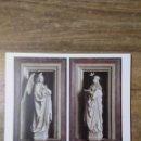 Coleccionismo: MFF.- LAMINA: JAN VAN EYCK. DIPTICO DE LA ANUNCIACION, 1435-1441.- MEDIDAS 29'3 X 22'9 CMTS.. Lote 161569006