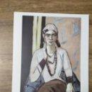 Coleccionismo: MFF.- LAMINA: MAX BECKMANN. QUAPPI DE ROSA, 1932- 1934.- 29'3 X 22'9 CMTS.-. Lote 161570910