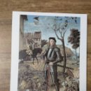 Coleccionismo: MFF.- LAMINA: VITTORE CARPACCIO. JOVEN CABALLERO EN UN PAISAJE, 1510.- 29'3 X 22'9 CMTS.-. Lote 161571390