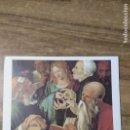 Coleccionismo: MFF.- LAMIN: ALBERTO DURERO. JESUS ENTRE LOS DOCTORES, 1506.- 29'3 X 22'9 CMTS.-. Lote 161683182