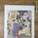 Coleccionismo: MFF.- LAMINA: LA CONQUISTA DEL TRANVIA. INOCENCIO MEDINA VERA.(1876- 1918).- 28'9 X 21'9 CMTS.-. Lote 161684714