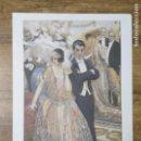 Coleccionismo: MFF.- LAMINA: DURANTE LA FIESTA. ADOLFO LOZANO SIDRO.(1874- 1935).- 28'9 X 21'9 CMTS.-. Lote 161685538