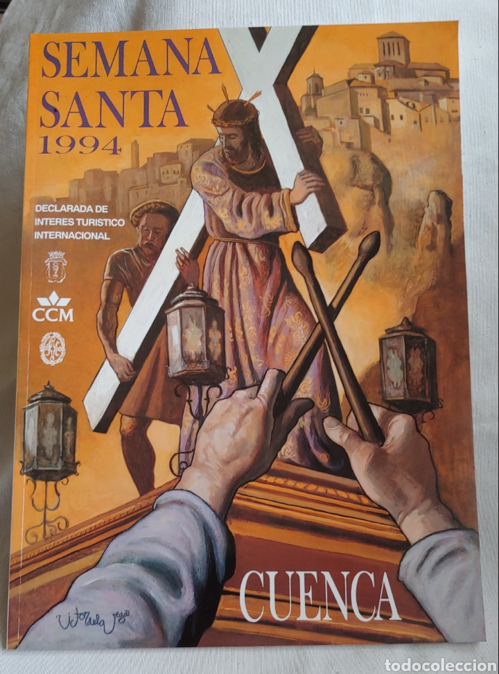 CUENCA SEMANA SANTA 1994 LIBRO PROGRAMA (Coleccionismo - Laminas, Programas y Otros Documentos)