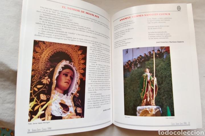Coleccionismo: Cuenca Semana Santa 1994 Libro programa - Foto 4 - 161919028