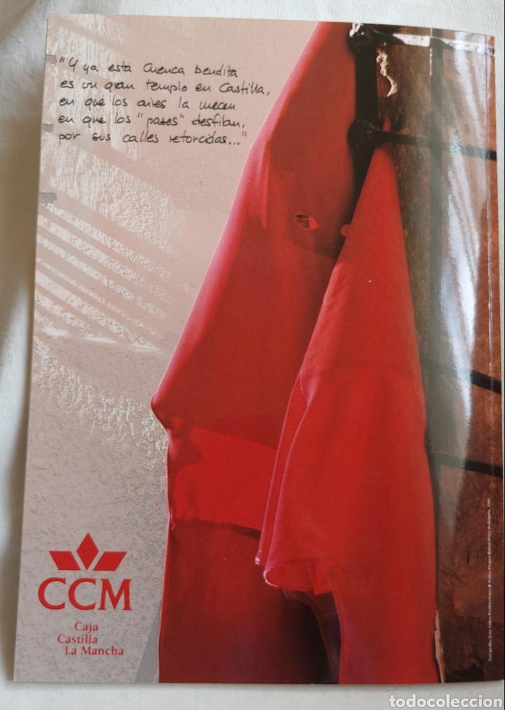 Coleccionismo: Cuenca Semana Santa 1994 Libro programa - Foto 5 - 161919028