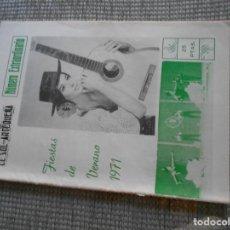 Coleccionismo: REVISTA PERIODICO DE ANTEQUERA FIESTAS DE VERANO 1971. Lote 161939082