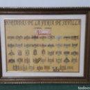 Coleccionismo: PORTADAS DE LA FERIA DE SEVILLA 1954-1994 EL CORREO. Lote 161951024