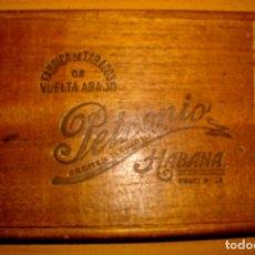 Coleccionismo: CAJA DE PUROS HAVANOS PETRONIO (( VACIA - COLECCION)) PRE/EMBARGO. Lote 161870674