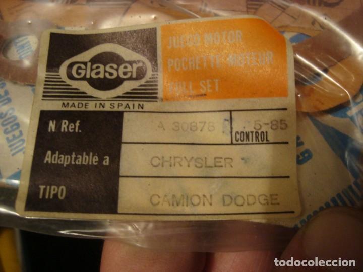 Coleccionismo: juego motor chrysler , camion dodge , ver referencia en foto , nuevo - Foto 2 - 162513690