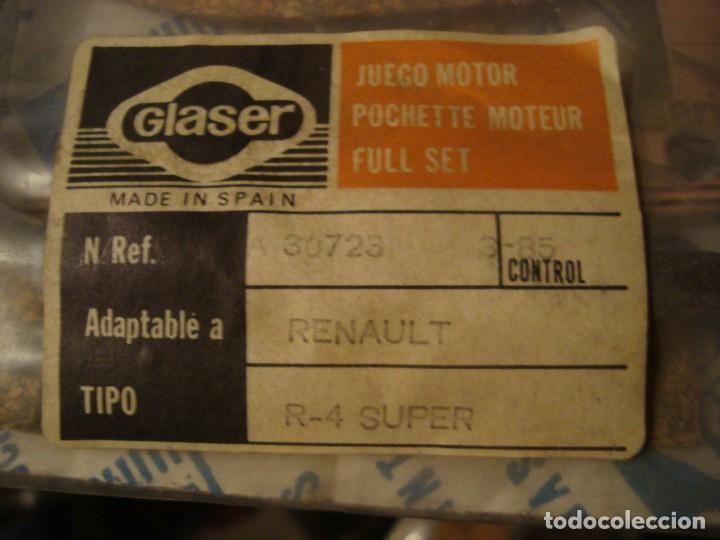 Coleccionismo: juego de motor renault 4 super , ver referencia en foto nuevo - Foto 2 - 162514626