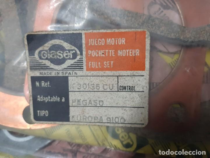Coleccionismo: juego de motor pegaso 9100 , ver foto de referencia nuevo - Foto 2 - 162581454