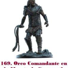 Coleccionismo: FIGURA DE PLOMO EL SEÑOR DE LOS ANILLOS INÉDITA EN ESPAÑA Nº169 ORCO COMANDANTE. SIN CAJA. Lote 162797798