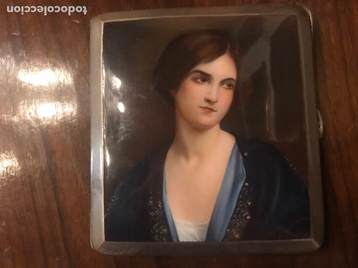 Coleccionismo: Pitillera esmaltada esmalte - Foto 2 - 162826538