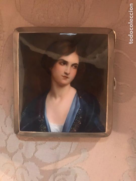 Coleccionismo: Pitillera esmaltada esmalte - Foto 5 - 162826538