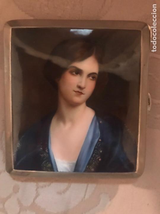 Coleccionismo: Pitillera esmaltada esmalte - Foto 6 - 162826538
