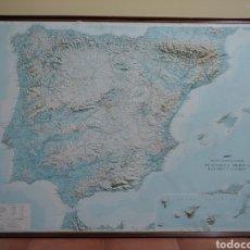 Coleccionismo: MAPA ESPAÑA EN RELIEVE. Lote 162929334