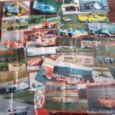 Coleccionismo: 28 PRECIOSOS PÓSTERS VINTAGE REVISTA AUTOPISTA. 1972-75. BARQUETAS.. Lote 163049046