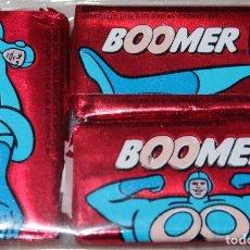Coleccionismo: LOTE 3 CHICLES BUBBLE GUM BOOMER - FRESA - SIN ABRIR (1987). Lote 271108978