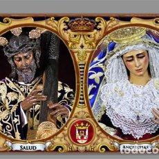 Coleccionismo: AZULEJO 40X25 DE LOS TITULARES DE LOS GITANOS DE SEVILLA. Lote 163605882