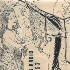 Coleccionismo: AÑO 1952 RECORTE PRENSA PUBLICIDAD PHILIPS RADIO RADIOFONOGRAFO GRAN CONCIERTO. Lote 163761290