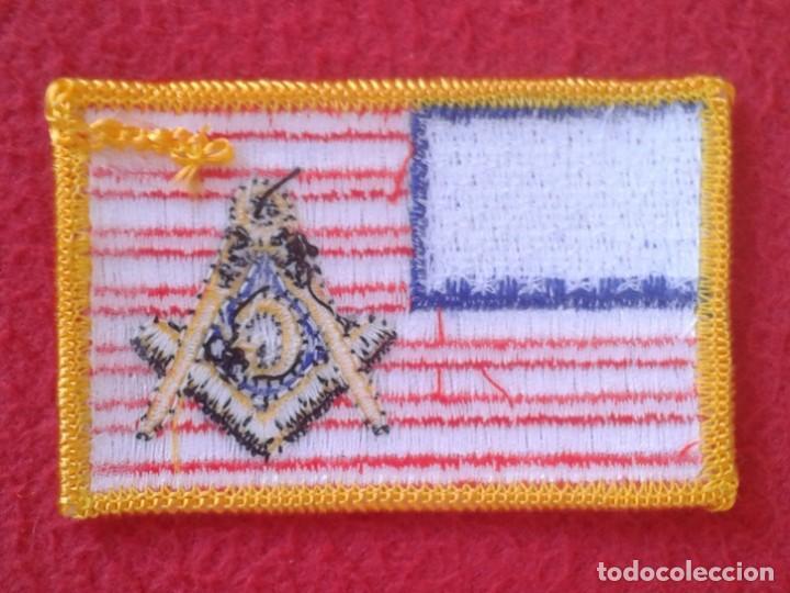 Coleccionismo: PARCHE PATCH MASONERÍA MASÓN MASONES MASONIC MASÓNICO BANDERA ESTADOS UNIDOS USA FLAG LOGIA LODGE G - Foto 3 - 163765878