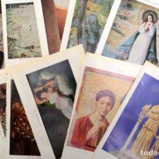Coleccionismo: LÁMINAS DE CUADROS DE ENCICLOPÉDIA, REPRODUCCIONES DE ARTE, LAMINAS ESCOLARES. Lote 163769874