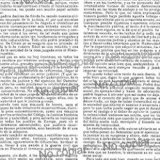 Coleccionismo: PPIO. 1900-MADRID, CRIMEN MAZARETE, DIONISIO PÉREZ-DUQUES LUISA MARGARITA-ARTURO GUILLERMO LISBOA. Lote 163890042