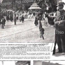 Coleccionismo: PPIO. 1900-TURIA VALENCIA PASEO SAN FRANCISCO-FERIA GUARDIA CIVIL-PALMA MALLORCA ESCUELAS COMERCIO... Lote 164120742