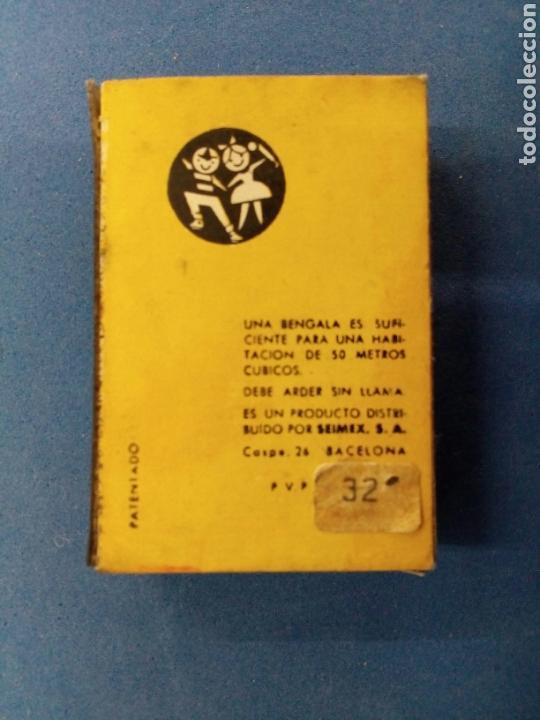 Coleccionismo: Lote de 6 cajas de bengalas FOGO , años 1950-60 - Foto 4 - 164505888