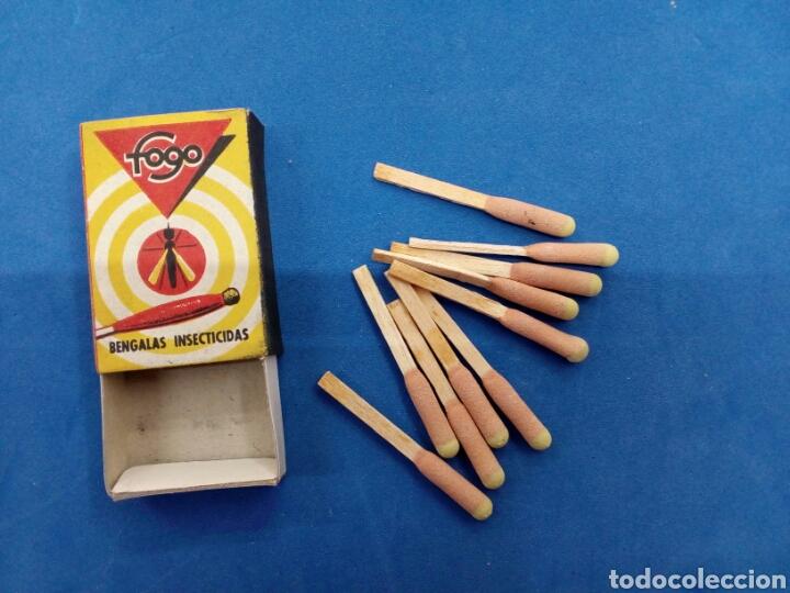 Coleccionismo: Lote de 6 cajas de bengalas FOGO , años 1950-60 - Foto 2 - 164505888