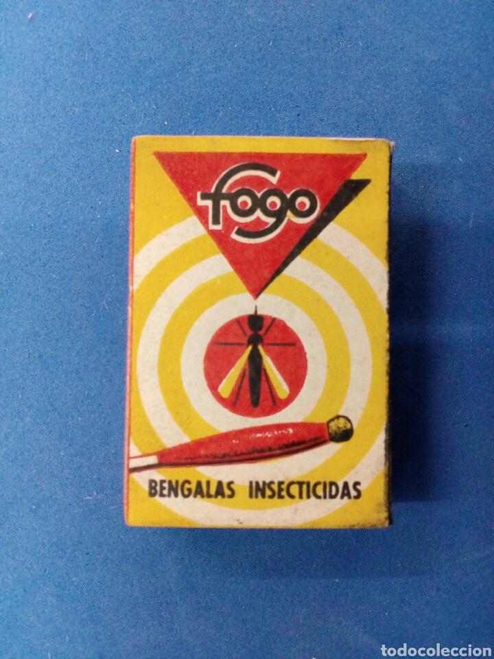 Coleccionismo: Lote de 6 cajas de bengalas FOGO , años 1950-60 - Foto 3 - 164505888