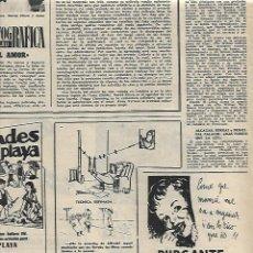 Coleccionismo: AÑO 1955 RECORTE PRENSA PUBLICIDAD PURGANTE YER LAXANTE. Lote 164590030