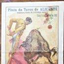 Coleccionismo: PLAZA DE TOROS DE ALICANTE. TRADICIONALES FESTEJOS LAS HOGUERAS DE SAN JUAN, 1957.. Lote 164771674