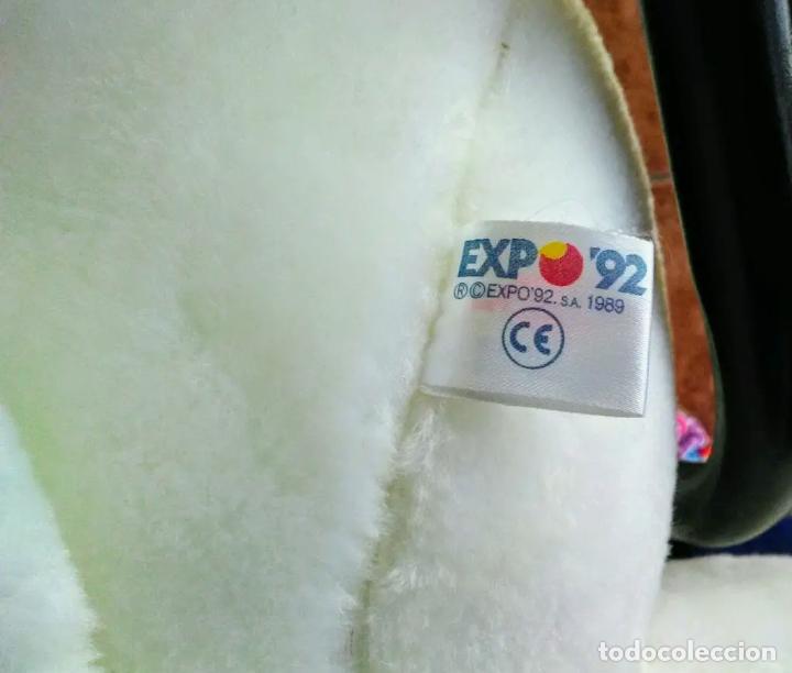 Coleccionismo: Peluche grande de Curro Expo92 original - Foto 2 - 164851762