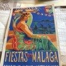 Coleccionismo: PROGRAMA DE LA FERIA DE MALAGA 1932. Lote 164913685