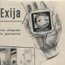 Coleccionismo: AÑO 1954 RECORTE PRENSA PUBLICIDAD LUNA PULIDA CRISTAÑOLA ESPEJOS CRISTAL. Lote 165258614