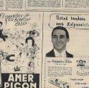 Coleccionismo: AÑO 1954 RECORTE PRENSA PUBLICIDAD KOLYNOS CREMA DENTAL ALEJANDRO ULLOA PUBLICITANDO DENTIFRICO. Lote 165259126