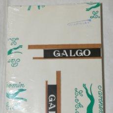 Collezionismo: PAQUETE DE PAPEL MARCA GALGO PARCHEMIN L.A.R. TAMAÑO CUARTILLA. LOTE 100 HOJAS. NUEVO SIN ABRIR. Lote 165854457
