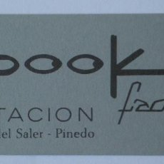 Coleccionismo: FLYER DISCOTECA SPOOK FACTORY RUTA BAKALAO. Lote 166407022