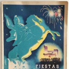 Coleccionismo: ALCOY - PROGRAMA DE FIESTAS TRADICIONALES DE SAN JORGE MÁRTIR - ABRIL1942. Lote 166557954