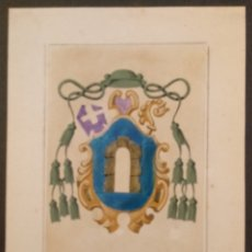 Coleccionismo: LAMINA ESCUDO HERALDICO - 20 X 28.5 CMS. Lote 166666762