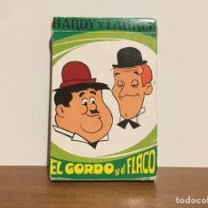 Coleccionismo: BARAJA HARDY Y LAUREL EL GORDO Y EL FLACO. Lote 166716966