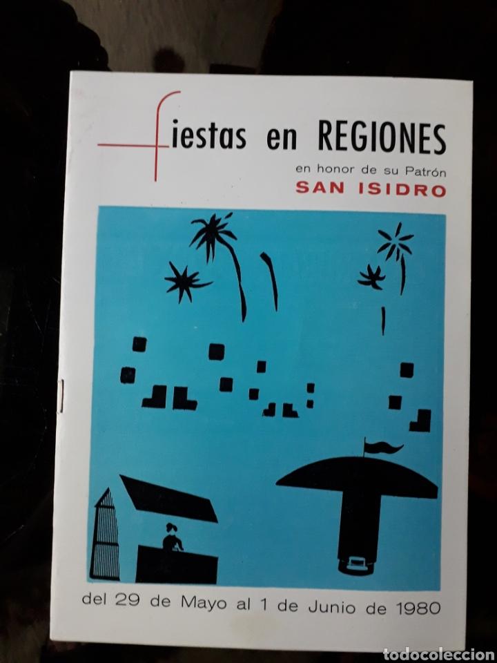 LIBRETO FIESTAS EN REGIONES. ALMERÍA. 1980. (Coleccionismo - Laminas, Programas y Otros Documentos)