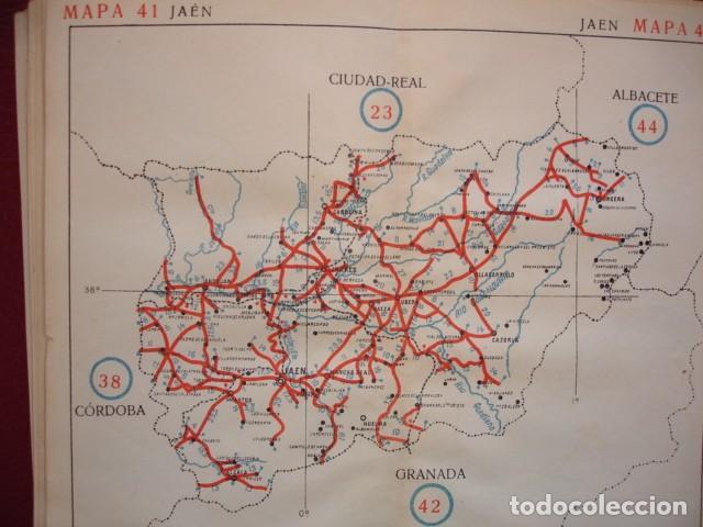 Jaen Mapa De Carreteras 22x19 5 Ano 1920 Buy Old Sheets Of