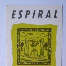 Coleccionismo: FLYER DISCOTECA ESPIRAL RUTA BAKALAO. Lote 166936068