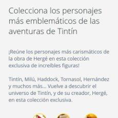Coleccionismo: COLECCIÓN COMPLETA FIGURAS TINTÍN. Lote 167170749
