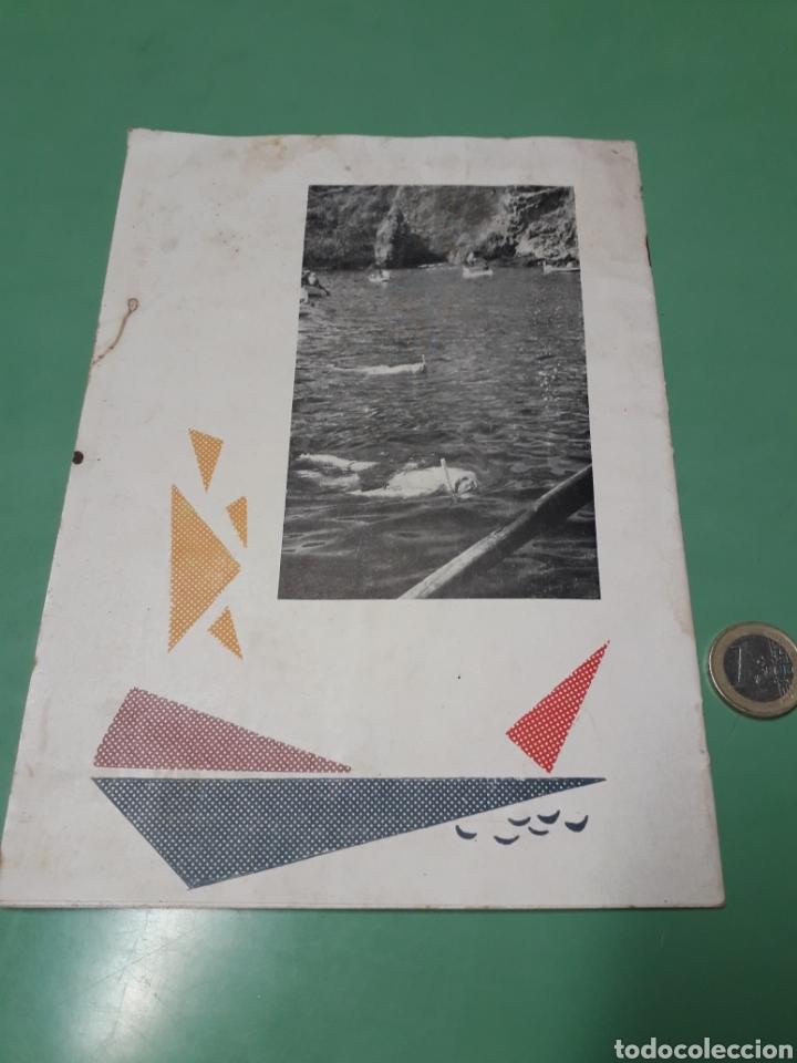 Coleccionismo: Libreto V campeonato inter-regional pesca submarina 1960 Costa del Sol. - Foto 2 - 167543508